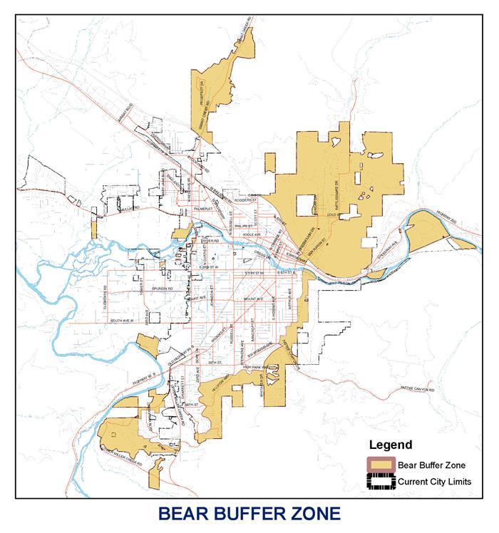 Bear Zone Map