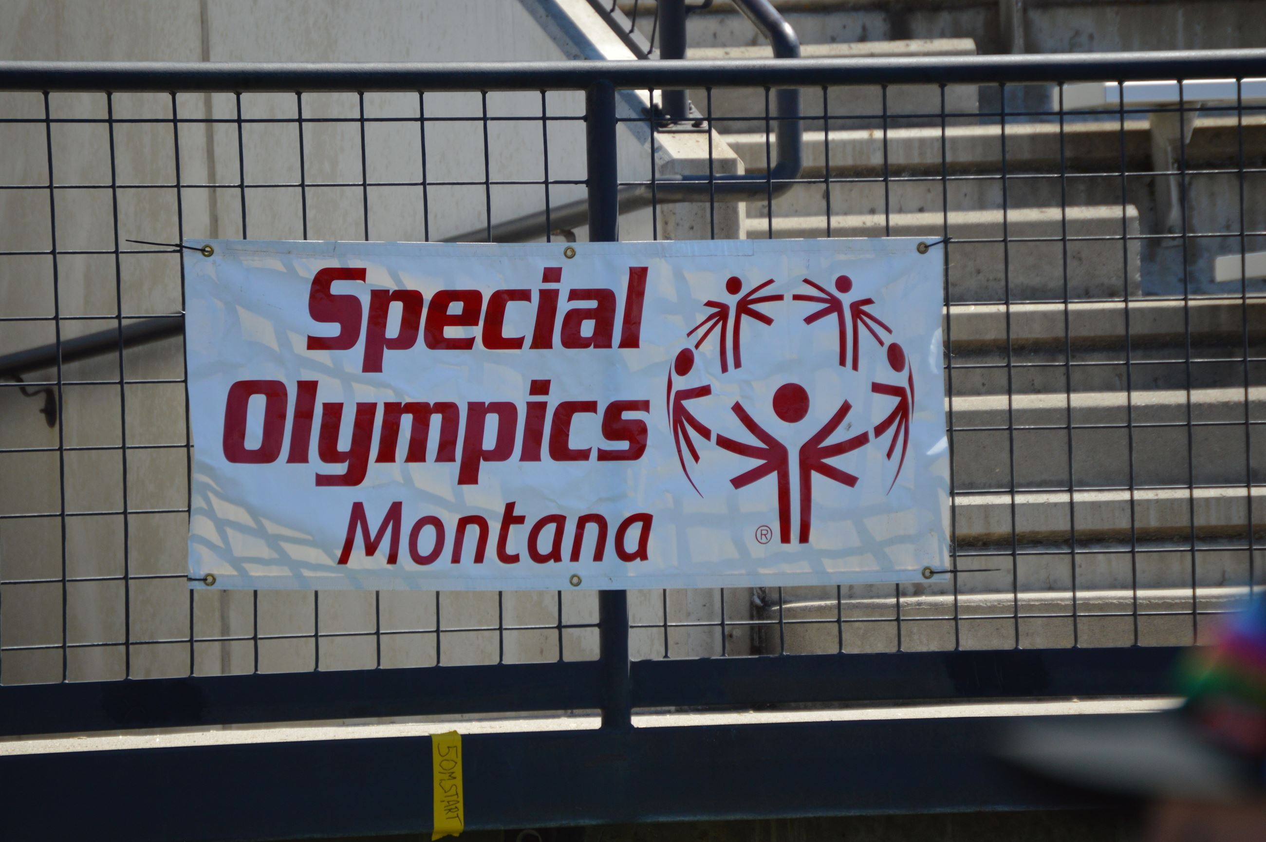 Special Olympics Montana Banner