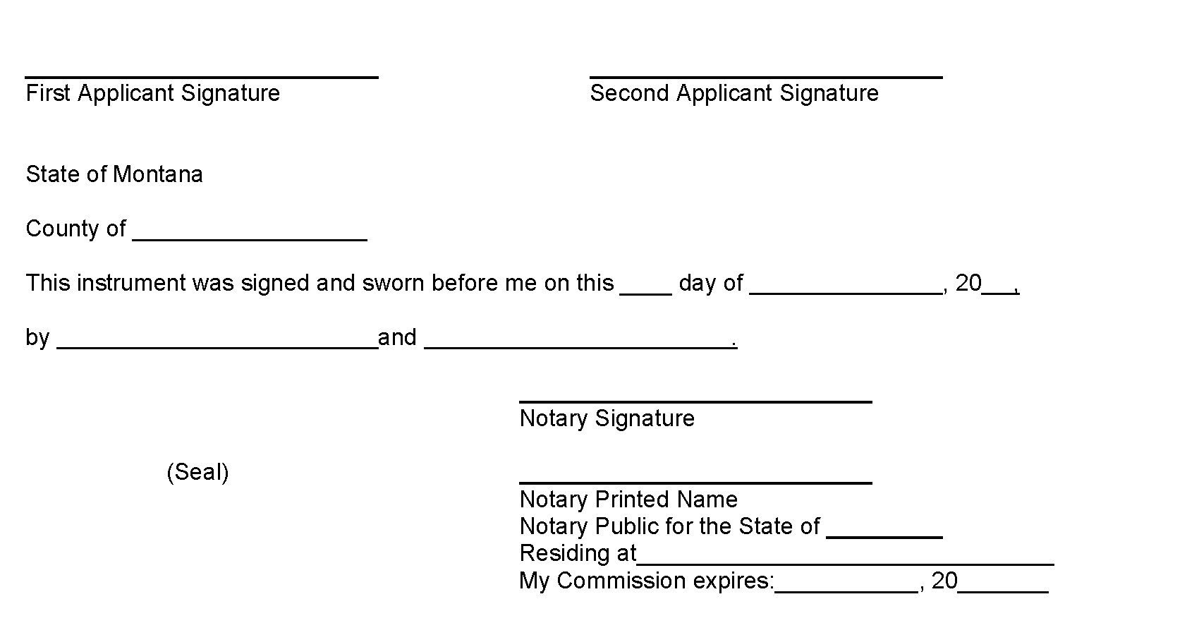 Signatures and Notary