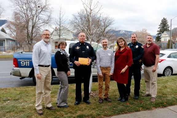 MPD Donation for Meals on Wheels